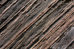 The texture of shale rock Royalty Free Stock Photos