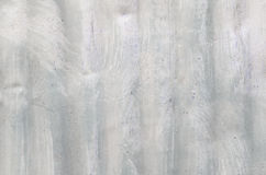 Texture of the sheet metal with white paint. Stock Photo