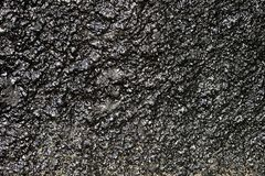 Texture of a black rough surface stock images