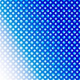 Abstract Seamless Blue Diamonds and Circles in Gradated Blue Background vector illustration