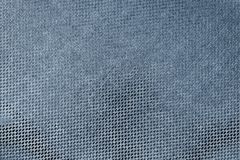 Texture shiny fabric of dark blue color Royalty Free Stock Photography