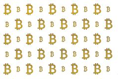Texture of sign crypto currency of bitcoin on white background. Symbol BTC. Texture of sign crypto currency of bitcoin white background. Symbol BTC. Bitcoin Stock Photos
