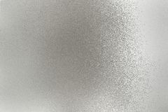 Texture of silver brushed metallic plate, abstract background royalty free stock photos