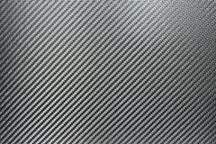 Texture of Silver Carbon Fiber Stock Photography