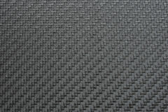 Texture of Silver Carbon Fiber Royalty Free Stock Photo