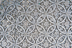 Texture of silver metal plate Stock Image