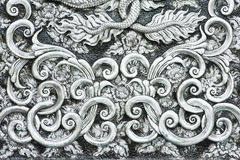 Texture of silver metal plate Royalty Free Stock Photo