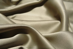 Texture of silvery fabric Royalty Free Stock Images