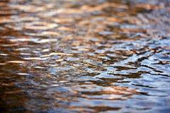 Texture simple de l'eau de mer Photo libre de droits