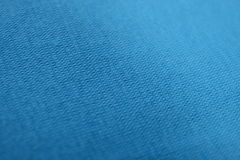The texture of a sky blue cotton cloth Stock Image