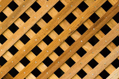 Texture of slat wall Royalty Free Stock Image