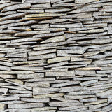 The texture of slate stone wall Royalty Free Stock Photo