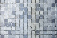 Texture of small ceramic tiles in a chaotic manner background for elite interior of bathroom, wc, lavatory and restroom royalty free stock photo