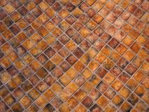 Texture of small square ceramic tile royalty free stock photography