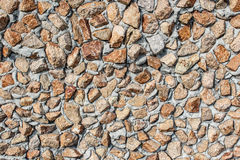 Texture of small stone, decor for wall Royalty Free Stock Images