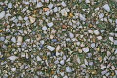 Texture of small stone gravel Royalty Free Stock Photo
