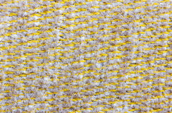Texture small textile on sofa Royalty Free Stock Photography