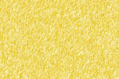 Texture of small yellow fibers stock photo