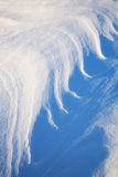 Texture of snow. Stock Photo