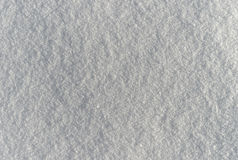 Texture of the snow Stock Photo