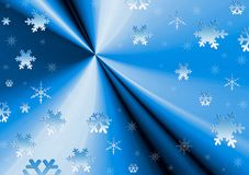 Texture snow. Snowflakes Stock Photography
