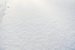 Texture snow Stock Photo
