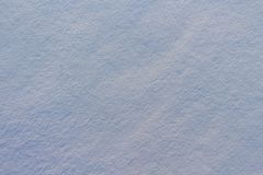Texture of snow in blue light Stock Photography