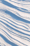 Texture of the snow cover on a sunny day Royalty Free Stock Photography