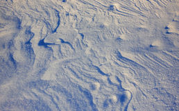Texture snow. Snowy mountains peaks with mist at sunny day. Carpathian, Ukraine, Europe Royalty Free Stock Images