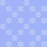 Texture with snowflakes Royalty Free Stock Photo