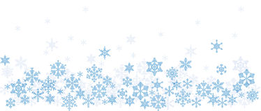 Texture with snowflakes Royalty Free Stock Photos