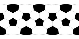 Texture soccer ball. High resolution Stock Images