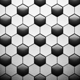 Texture of soccer ball Royalty Free Stock Photography