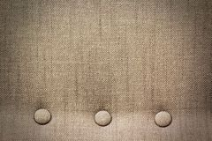 Texture of Sofa Fabric Wallpaper. Texture of Sofa Fabric with Buttons Wallpaper Stock Photography