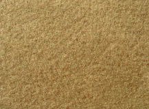 Texture of soft brown fleecy fabric Stock Photos
