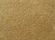 Texture of soft brown fleecy fabric Stock Photos