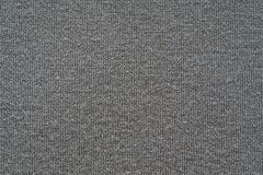 Texture from a soft knitted fabric of gray color Stock Photos