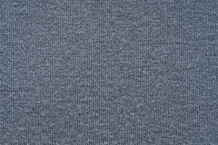 Texture from a soft knitted fabric of silver color Stock Image