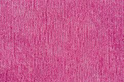 Texture of a soft pink fabric shot close-up.  royalty free stock image