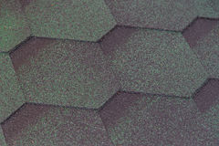 Texture Soft Tile. Background Pink Flexible Tile Roof. Royalty Free Stock Photos