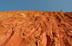 Texture of soil Royalty Free Stock Photos