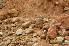 Texture of soil wall. Background Stock Photo