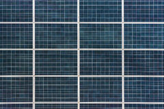 Texture solar panel close-up Royalty Free Stock Image