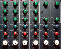 Texture of sound mixer Stock Photo