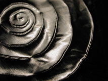 Texture spiralée de formes métalliques Image libre de droits