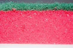 Texture sponges for washing dishes in profile Stock Photography