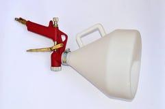 Texture Spray Gun Stock Photo