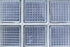 Texture of square glass blocks / luxfery Royalty Free Stock Photos