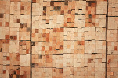 Texture stack of boards  sawmill Royalty Free Stock Photography