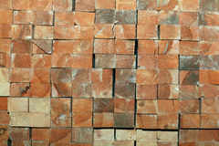 Texture stack of boards  sawmill Stock Photo